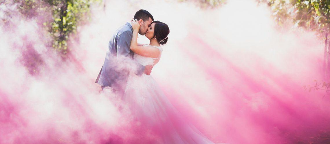 Wedding Smoke Photography