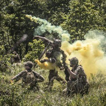 Airsoft Smoke Bomb